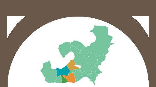 Nos points de distribution dans les bouches du rhones